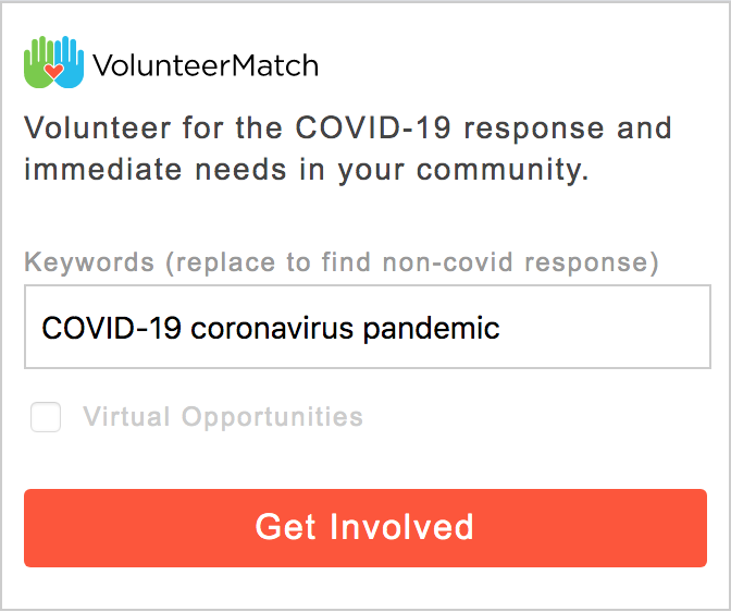 VolunteerMatch Connect product